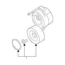Audi Drive Belt Tensioner - Febi 06E903133AE