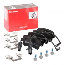 Audi Brake Pad Rear- TEXTAR 4H0698451D