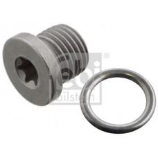 Audi VW Engine Oil Drain Plug - Febi N91167901