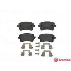 Audi Brake Pad Rear - brembo 8K0698451E